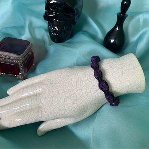Jewelry - Drawstring & Skull Bracelet